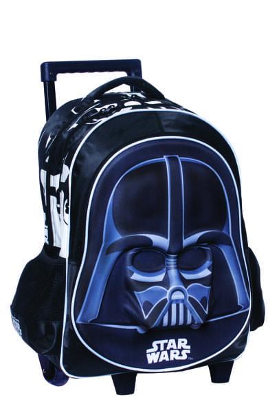eceb207910b Emuscle Σχολική Τσάντα Trolley Star Wars Vader 338-17074