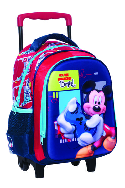 4ab362b293d Emuscle Τσάντα Trolley Νηπιαγωγείου Mickey Mouse 340-72072
