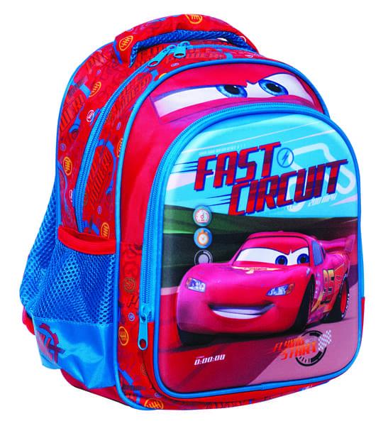 9662ca15b6 Τσάντα Νηπιαγωγείου Cars Lap 3D 341-57054