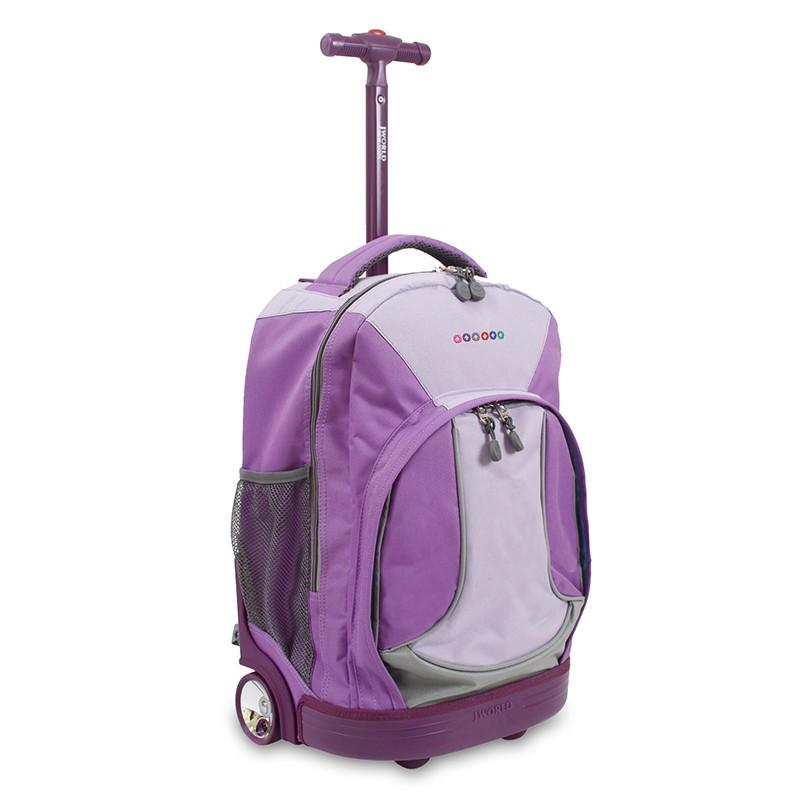 650b71f918 Emuscle Τσάντα Τρόλει JWORLD Sunday 82-Purple 395-00013