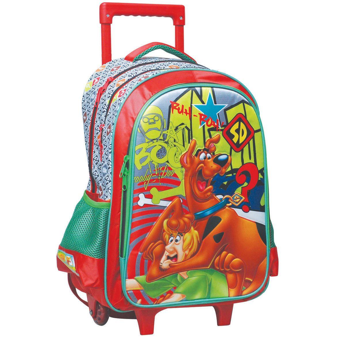 65855a4800 Τσάντα Δημοτικου Trolley Scooby Doo Boo 336-11074